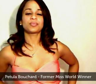 Petula Bouchard – Former Miss World Winner